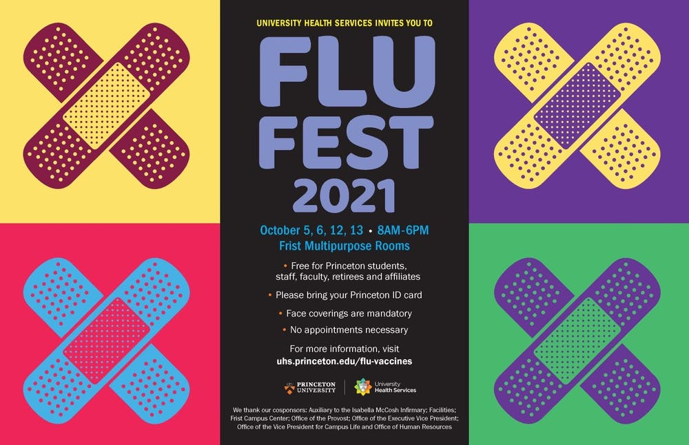 <h5>FluFest 2021 Poster</h5> <h6>Courtesy of the Office of Communications</h6>