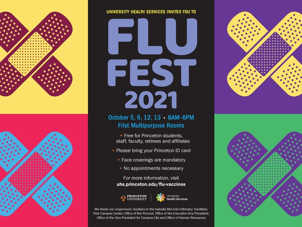 FluFest 2021 Poster Courtesy of the Office of Communications
