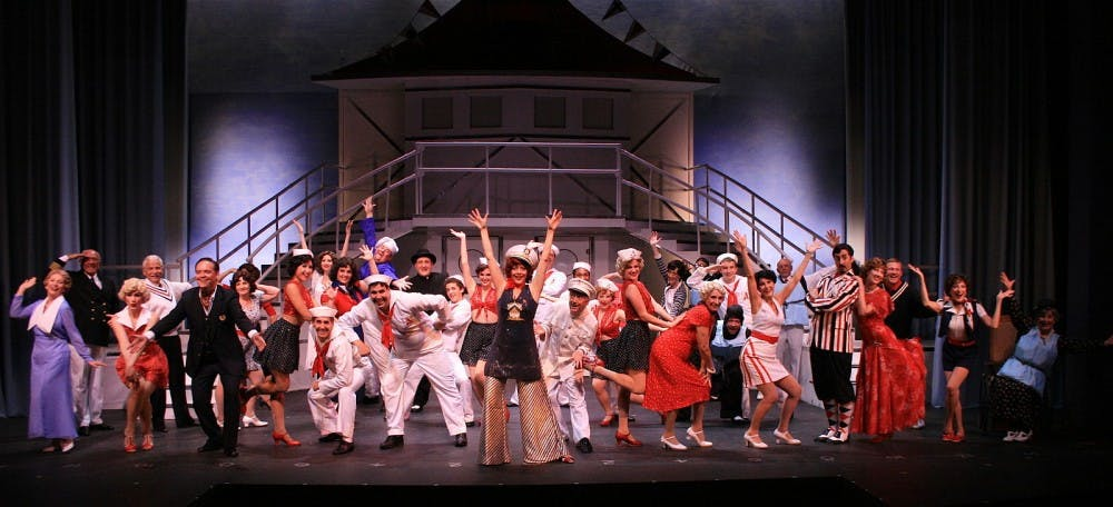 """Anything Goes"", The Naples Players, March 2009. Source attributed to Creative Commons"