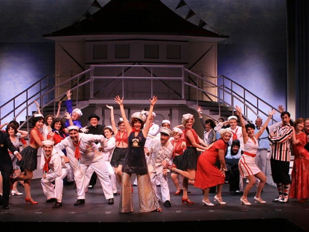 """""""Anything Goes"""", The Naples Players, March 2009. Source attributed to Creative Commons"""
