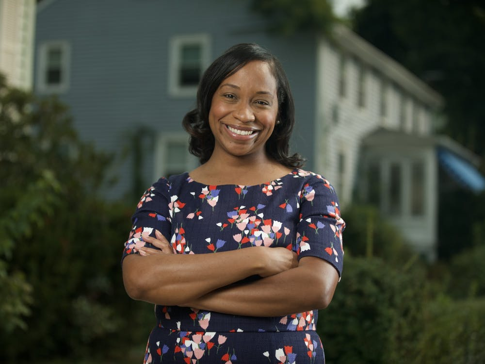 Andrea Campbell '04 is running for Mayor of Boston. Courtesy of Andrea Campbell Press Team