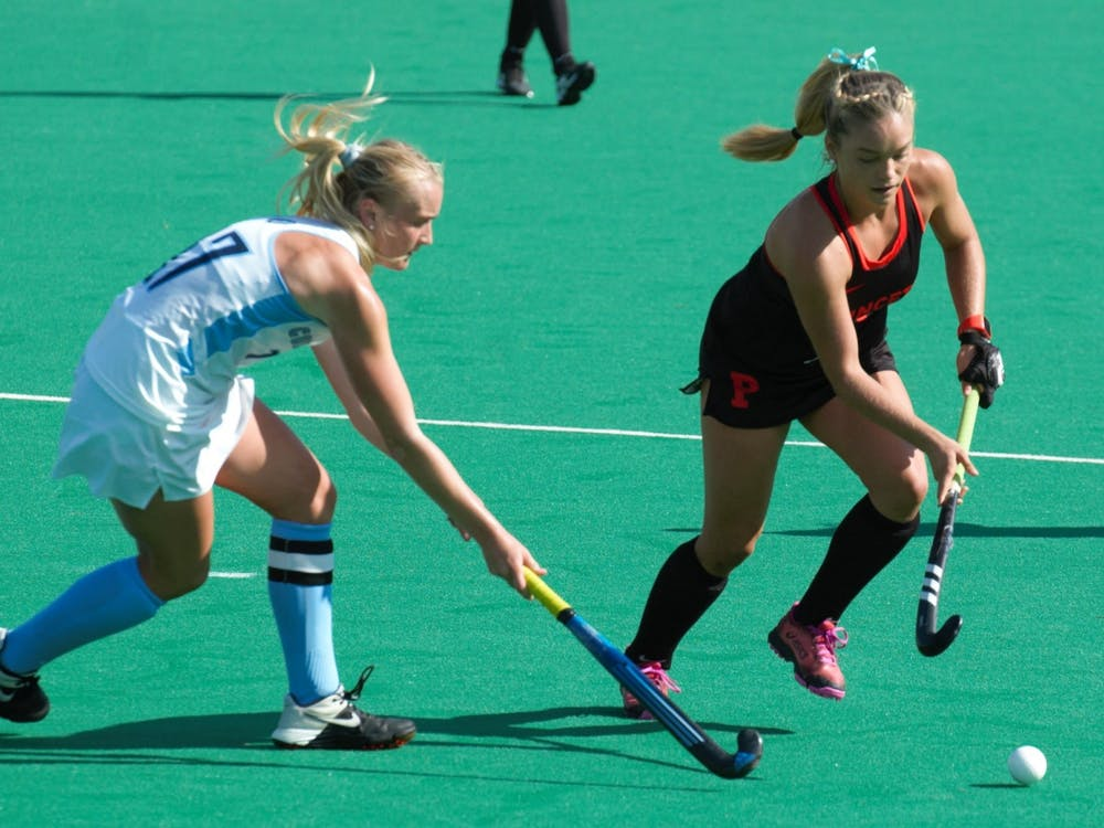 Julianna Tornetta scored the winning goal in the NCAA Final Four against Virginia. Jack Graham / The Daily Princetonian