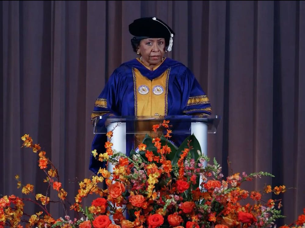 Ruth Simmons speaks at 2021 virtual Baccalaureate ceremony. Evelyn Doskoch / The Daily Princetonian