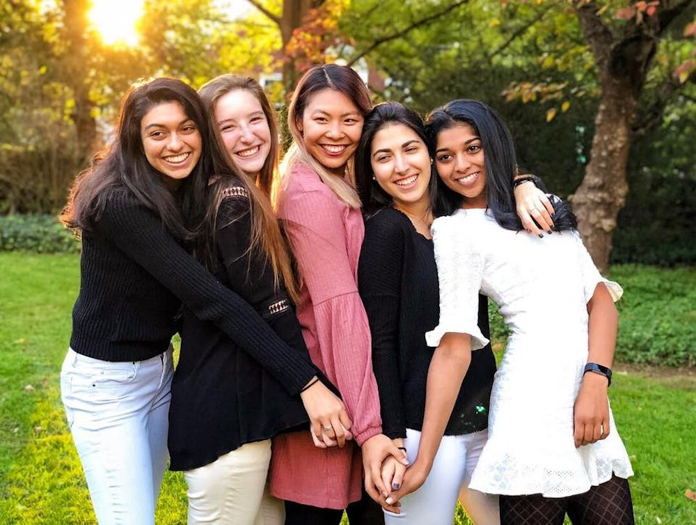 <p>The elected officers for the class of 2021 were also elected last year, which was the first time since 2004 that all officers for a class were women.</p> <p><br></p> <p>Courtesy of Sanjana Duggirala '21</p>