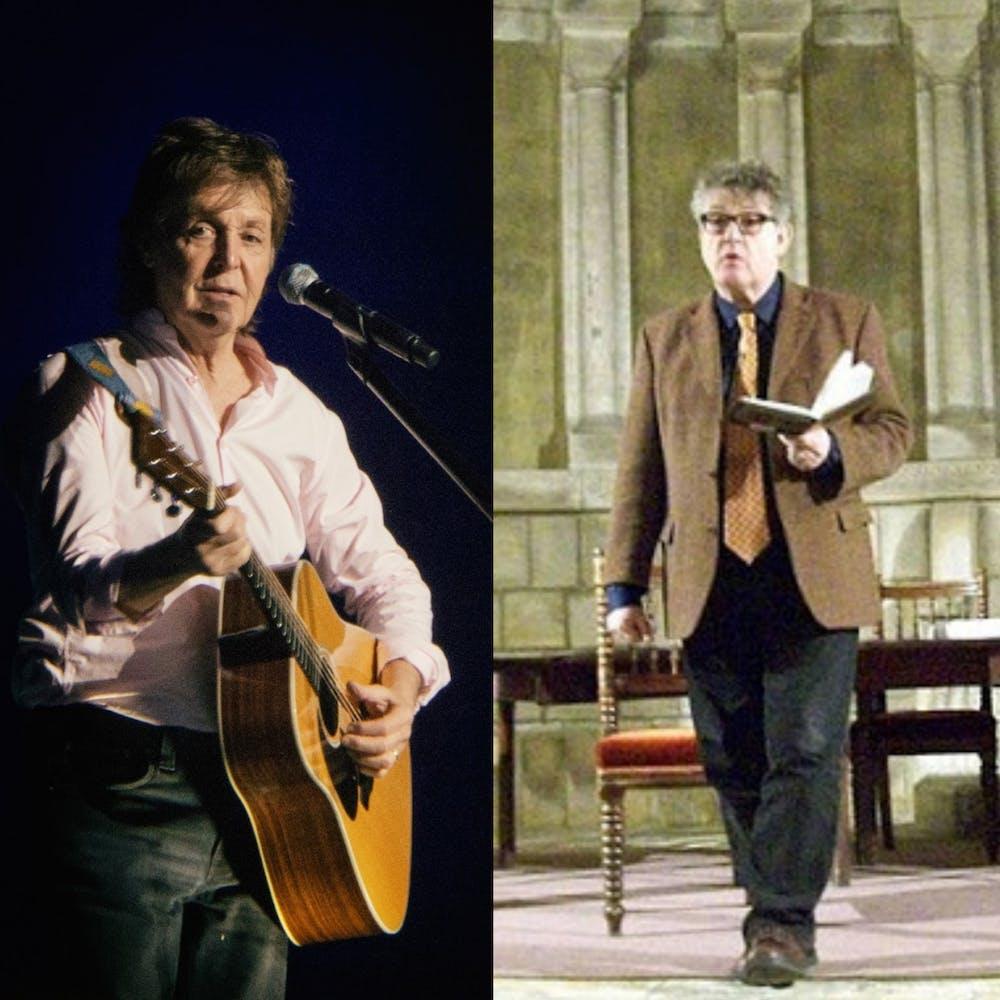 "<h5>Sir Paul McCartney, left, and Paul Muldoon, right</h5> <h6>""Paul McCartney"" by Jerzy Bednarski / <a href=""https://commons.wikimedia.org/wiki/File:Paul_McCartney_.jpg"" target=""_self"">CC BY 4.0</a></h6> <h6>""Paul Muldoon"" / <a href=""https://commons.wikimedia.org/wiki/File:Muldoon,_Paul_(1951)4.jpg"" target=""_self"">CC BY 2.0&nbsp;</a></h6>"