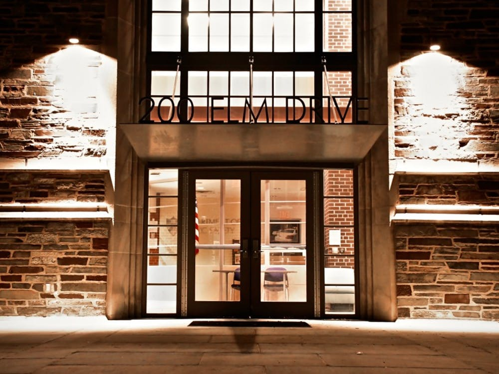 The entrance to the Department of Public Safety. Jon Ort / The Daily Princetonian