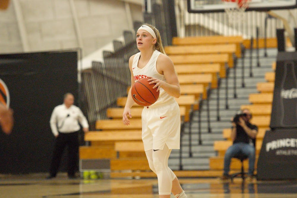 <p>Carlie Littlefield and Princeton women's basketball have gained national recognition for their play this season.&nbsp;</p> <h6><strong>Photo Credit: Jack Graham / The Daily Princetonian</strong></h6>