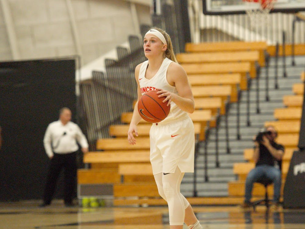 Carlie Littlefield and Princeton women's basketball have gained national recognition for their play this season.  Photo Credit: Jack Graham / The Daily Princetonian