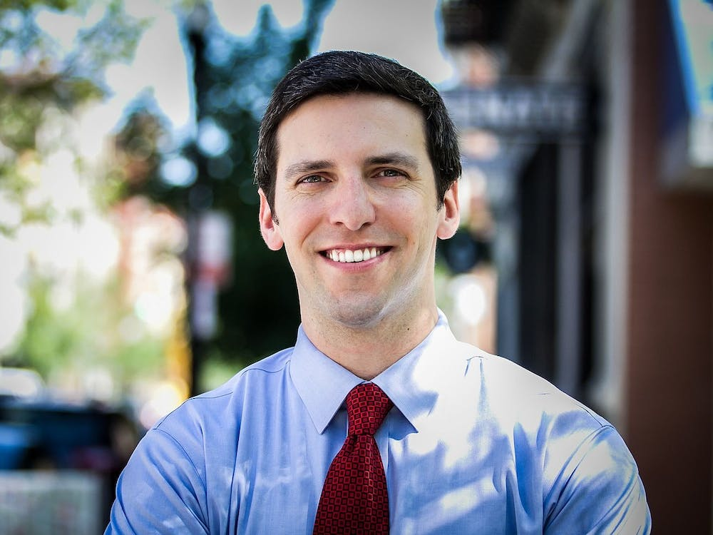 P.G. Sittenfeld '07, pictured during his 2016 Senate campaign. Sittenfeld for Senate / Wikimedia Commons