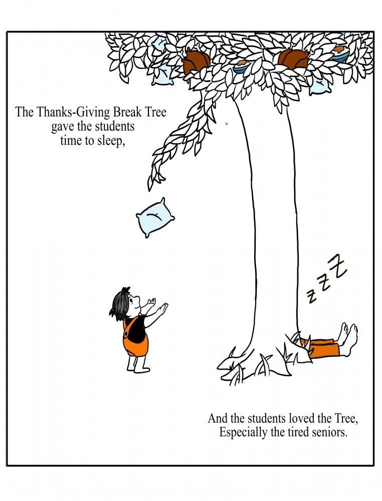 The Thanks-Giving Break Tree