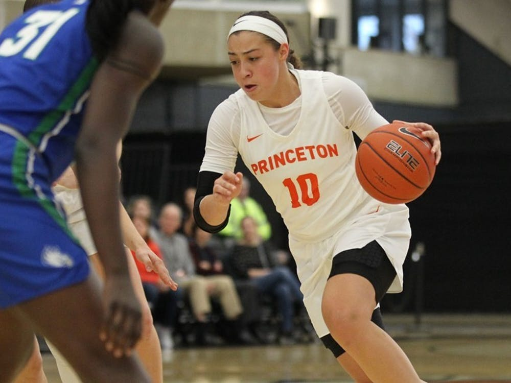 Grace Stone and Princeton will take on Iowa Wednesday night. Photo Courtesy of Beverly Schaefer / goprincetontigers.com