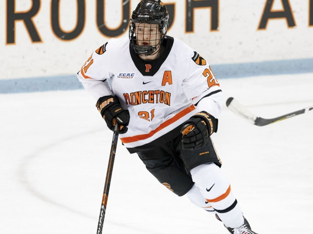Ryan Kuffner became men's hockey's all-time leading scorer during the game against Clarkson