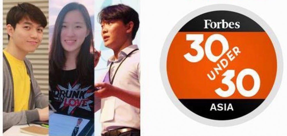 Jenny Cho '14 and Yongmin Cho '19 named Forbes' 30 Under 30