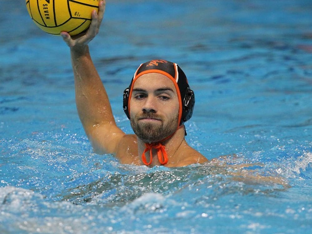 Casey Conrad and Princeton fell by one goal to Harvard in the NWPC championship. Photo Courtesy of GoPrincetonTigers.com