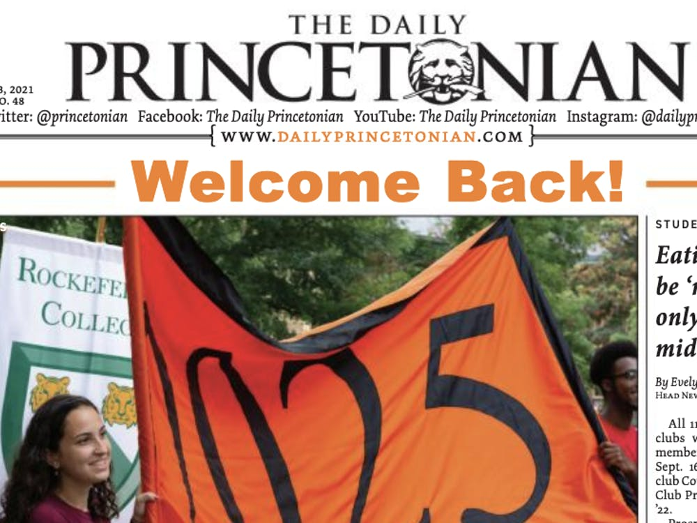 A photo of the Sept. 3 issue.