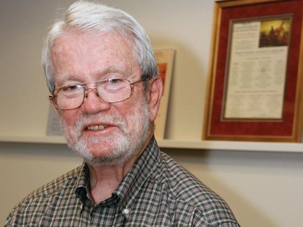 Professor John Murrin. Courtesy of Beverly Schafer