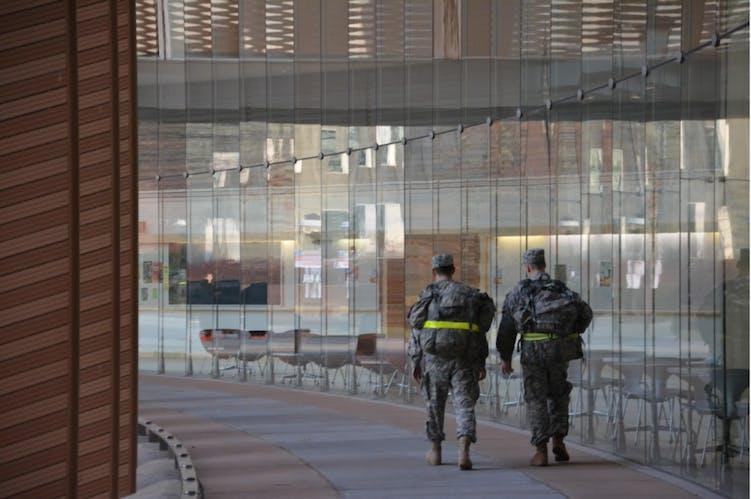A different culture: U  ROTC program presents unique