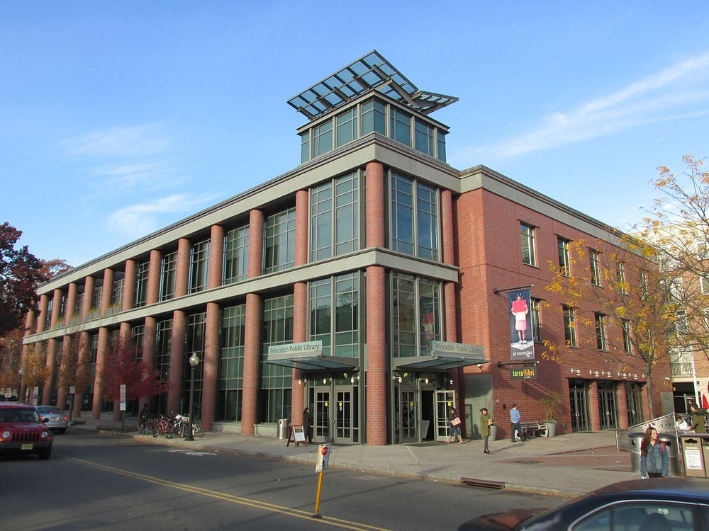 """<h5>The Princeton Public Library</h5> <h6>John Phelan / <a href=""""https://en.wikipedia.org/wiki/Princeton_Public_Library#/media/File:Princeton_Public_Library,_Princeton_NJ.jpg"""" target=""""_self"""">Wikimedia Commons</a></h6>"""