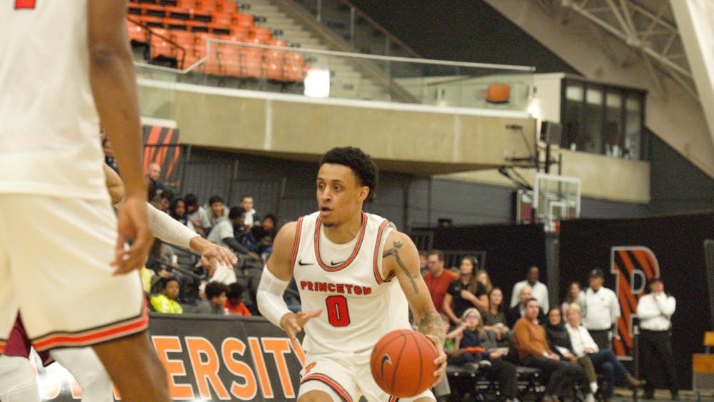 Jaelin Llewellyn scored 17 points to lead Princeton past Bucknell. Photo Credit: Jack Graham / The Daily Princetonian