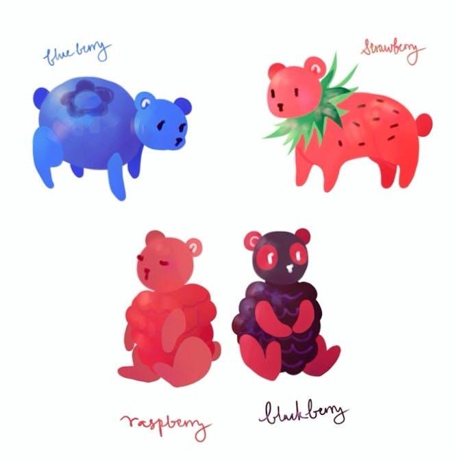 Mixed Bearies