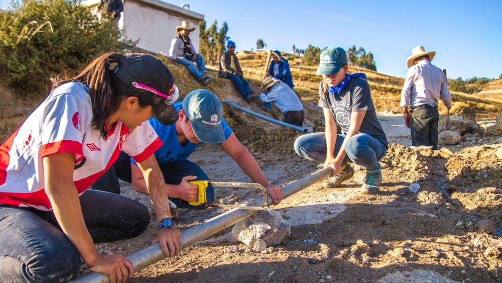 Members of Engineers Without Borders, a club adjusting to this new, virtual normal. Josh Umansky Castro for The Daily Princetonian