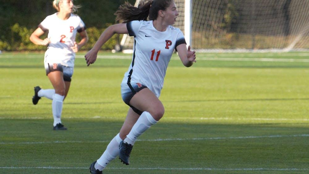 Olivia Kane '21 and Princeton beat Cornell on Saturday. Photo by Jack Graham / Daily Princetonian