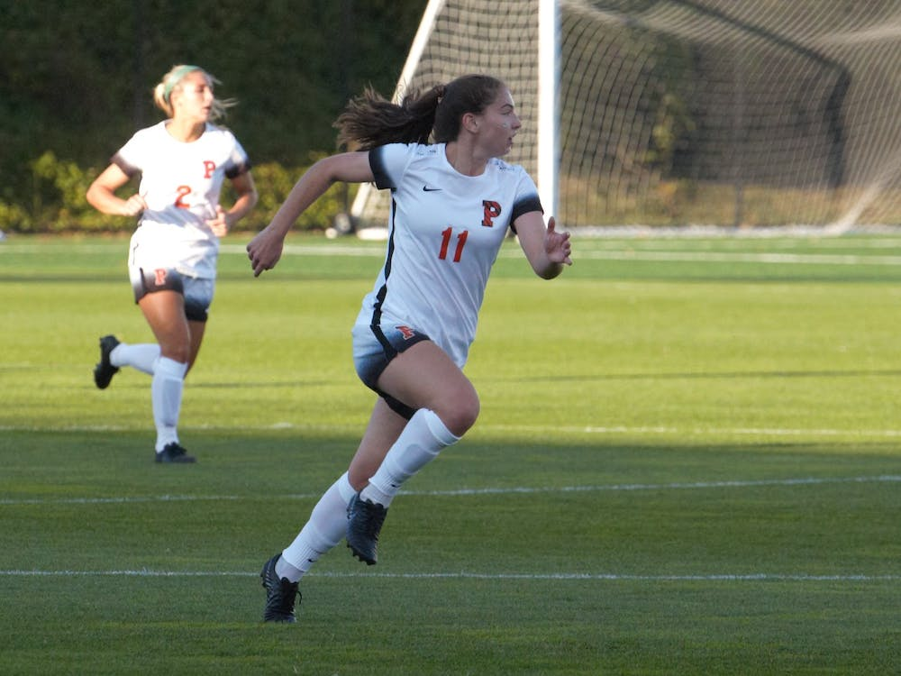 Olivia Kane '21 and Princeton beat Cornell on Saturday. Photo by Jack Graham / Daily Princetonian