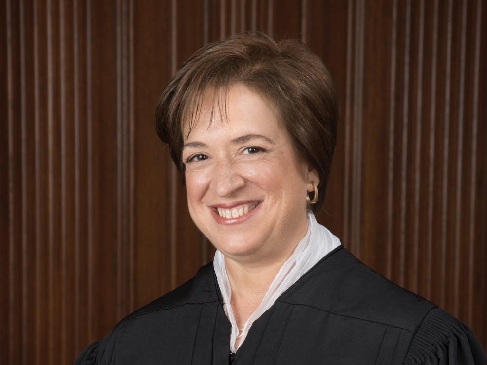 Supreme Court Justice Elena Kagan '81 posed for an official portrait in 2013. Courtesy of Supreme Court of the United States website