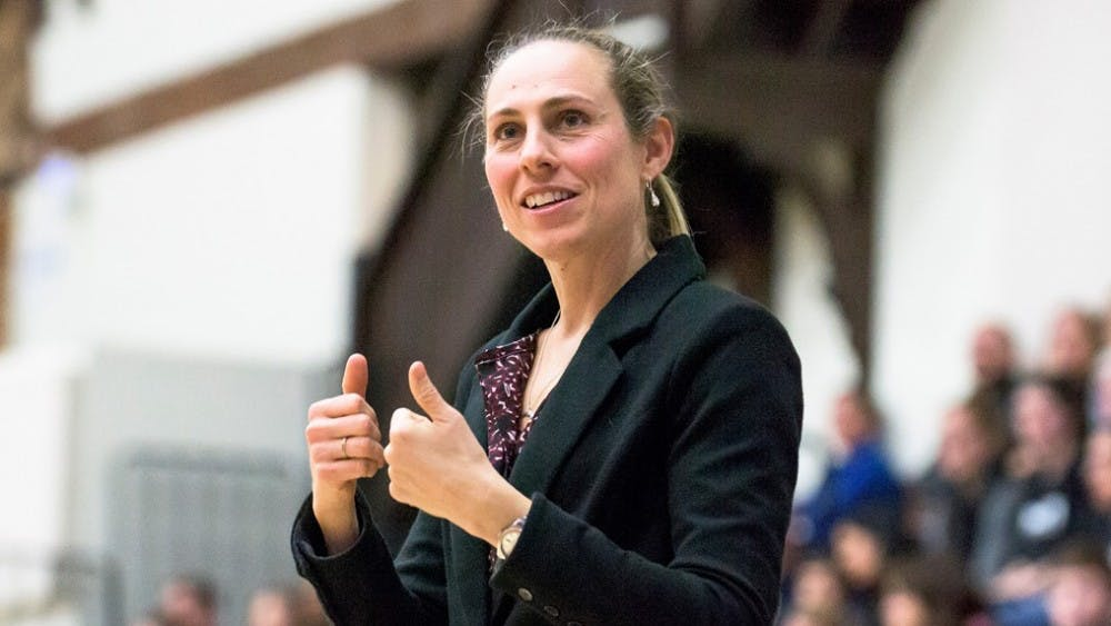 <p>Carla Berube comes to Princeton after 17 years at Tufts. Photo Credit: GoPrincetonTigers.com</p>