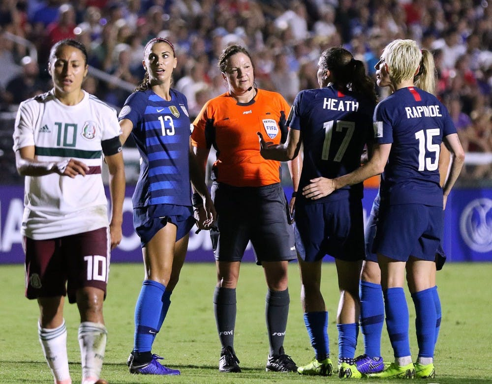 <p>The US Women's National Team inspired the nation with their impressive performance at the 2019 FIFA Women's World Cup</p> <p><br></p> <h6>Photo Courtesy of Jamie Smed, via Wikimedia Commons&nbsp;</h6>