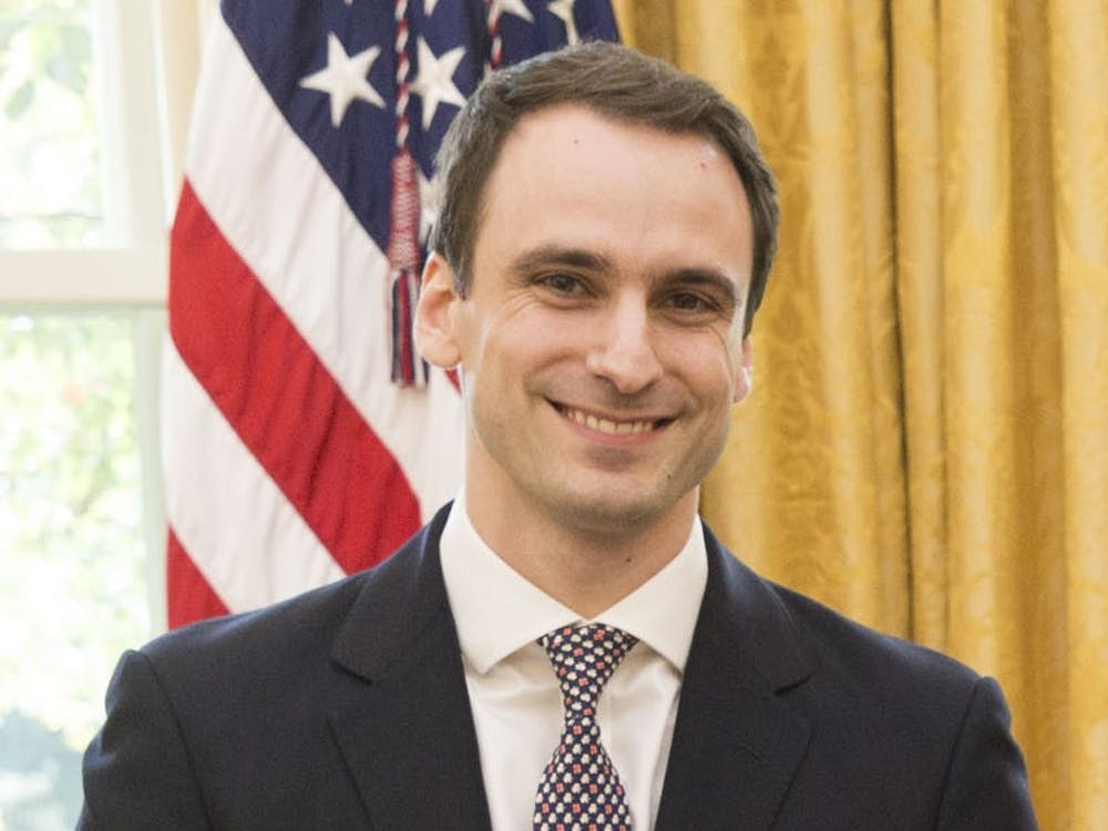 Photo Caption: Michael Kratsios majored in Politics during his time at the University. Photo Credit: Shealah Craighead / The White House