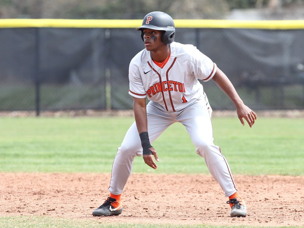 Nadir Lewis '23 on the baseball field during a home game. Photo Courtesy of Beverly Schaefer.