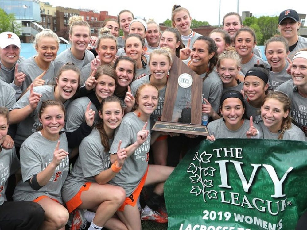Women's Lacrosse beat Penn in the Ivy tournament final Saturday. Photo Credit: GoPrincetonTigers.com