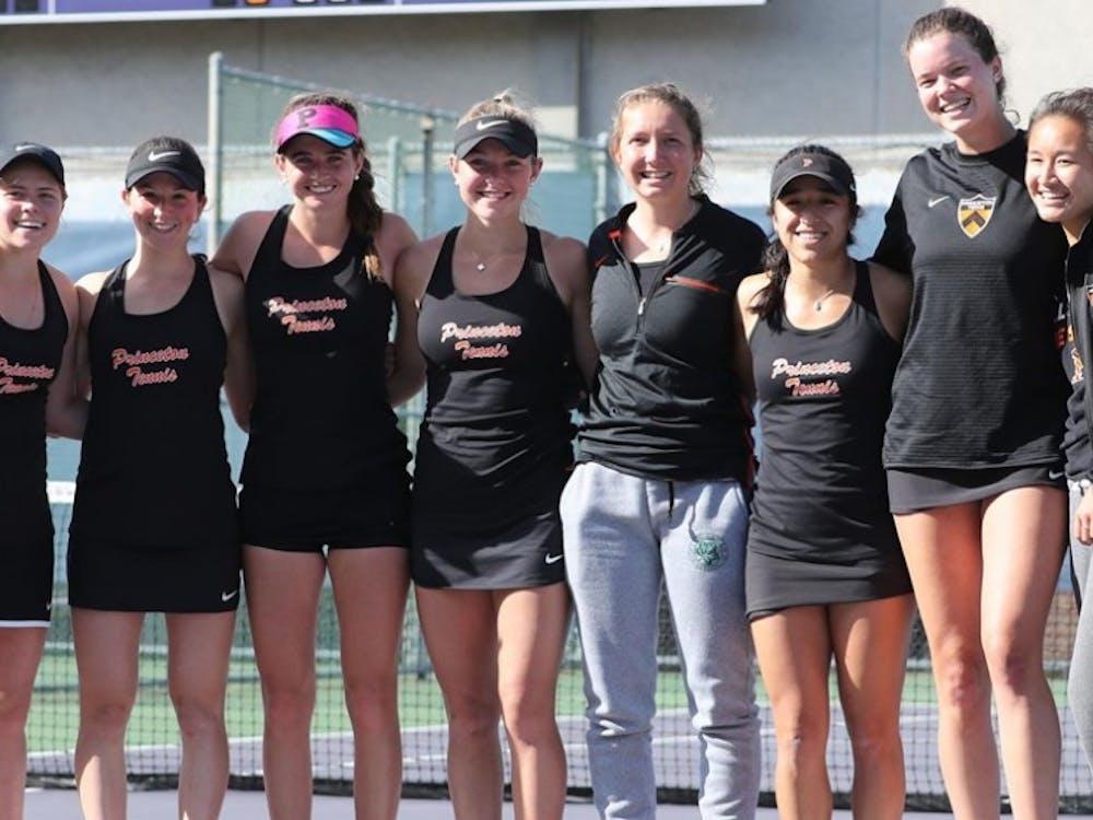 Women's tennis went to Washington during its NCAA tournament run. Photo Credit: GoPrincetonTigers.com