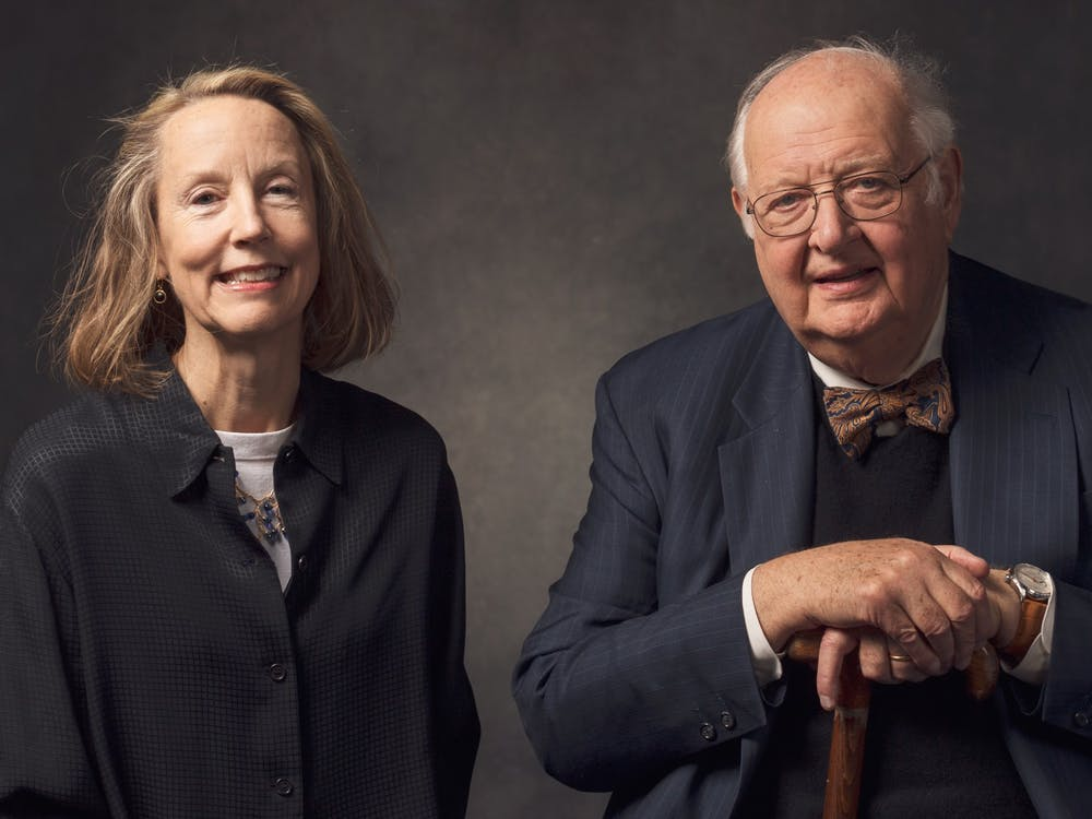 Professors Anne Case (left) and Angus Deaton (right). Courtesy of Lori A. Mitrano