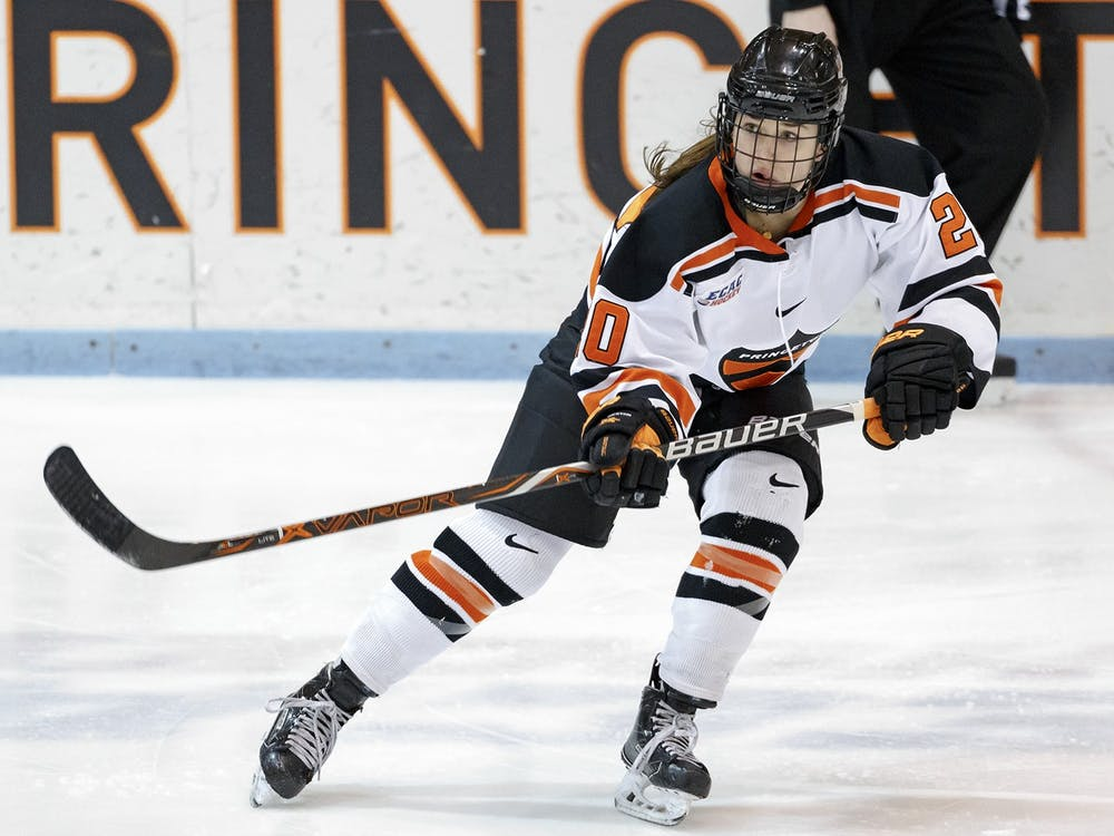 Carly Bullock scored the lone goal in Princeton's win over Colgate. Photo Credit: Shelley M. Szwast / goprincetontigers.com