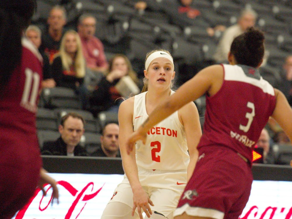 Carlie Littlefield scored 18 points against FGCU before leaving the game in the third quarter. Photo Credit: Jack Graham / The Daily Princetonian