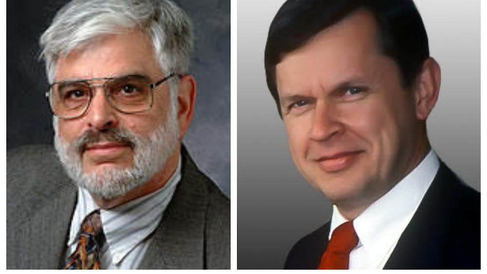Jeffrey D. Ullman GS '66 (left) and Alfred V. Aho GS '67 (right) Courtesy of Ullman and Aho, respectively