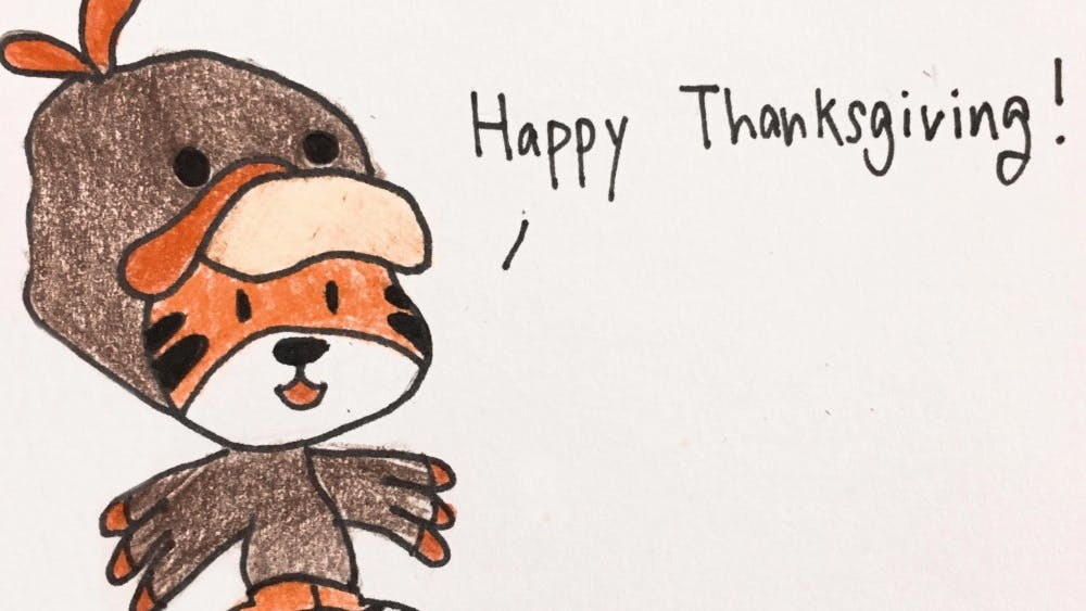 _Happy Tiger Thanksgiving,_ Dave Shin '18