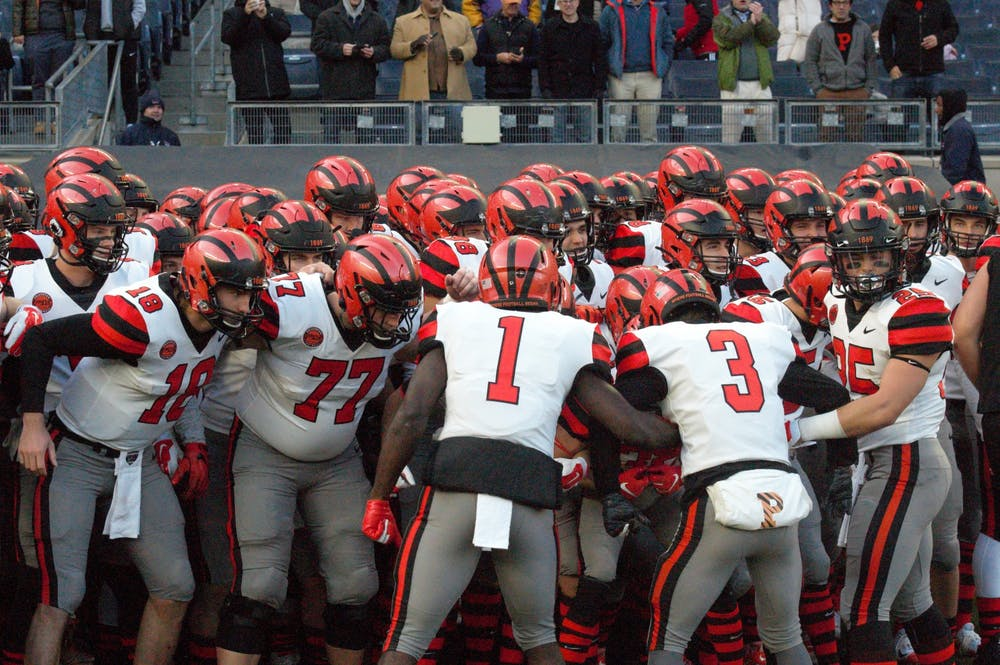 <p>Princeton football will take on Yale this weekend.</p> <h6>Photo Credit: Jack Graham / The Daily Princetonian</h6>