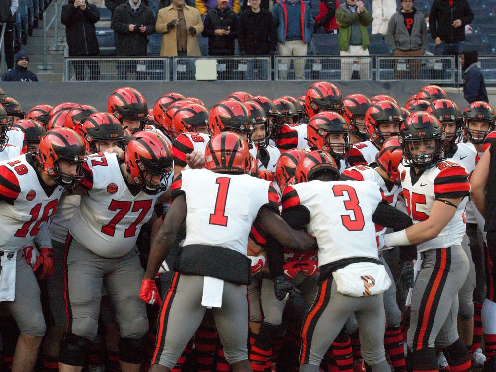 Princeton football will take on Yale this weekend. Photo Credit: Jack Graham / The Daily Princetonian