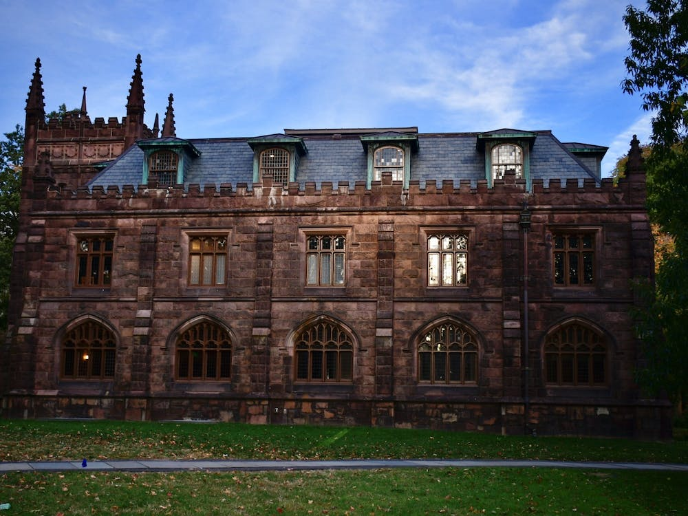 Murray-Dodge Hall, which houses the Office of Religious Life. Jon Ort / The Daily Princetonian