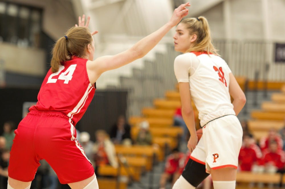<p>Bella Alarie and Princeton return to Jadwin this weekend. Courtesy of Jack Graham / The Daily Princetonian</p>