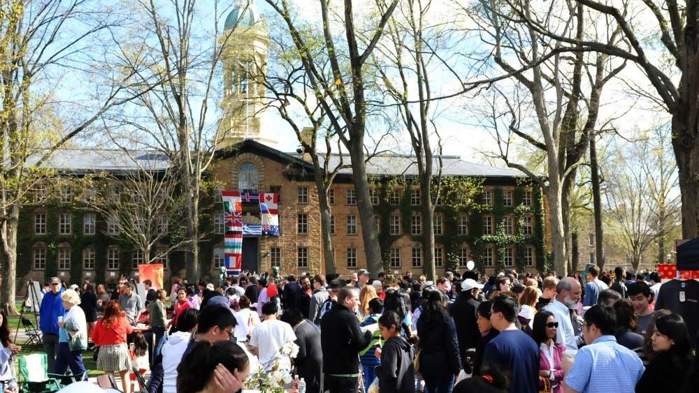Communiversity 2014. Grace Jeon / The Daily Princetonian