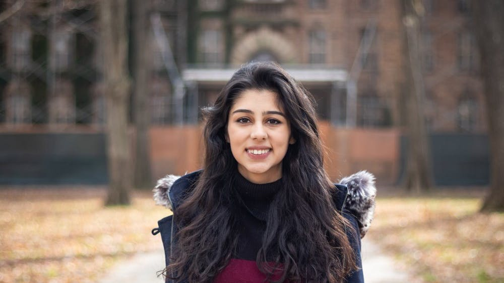 Zarnab Virk '20 served as the fifth female USG president in an iteration of five to serve the class of 2019. Photo Courtesy of Brad Spicher