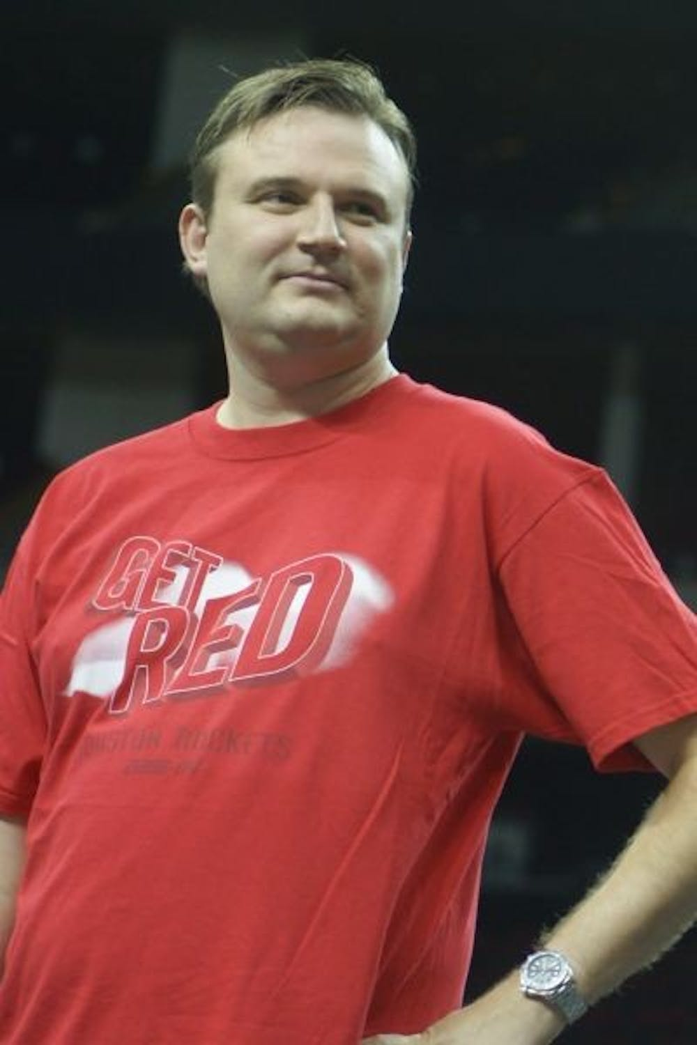 <p>Daryl Morey, General Manager of the Houston Rockets</p> <h6>Photo Credit: Morbidthoughts via Wikimedia Commons</h6>