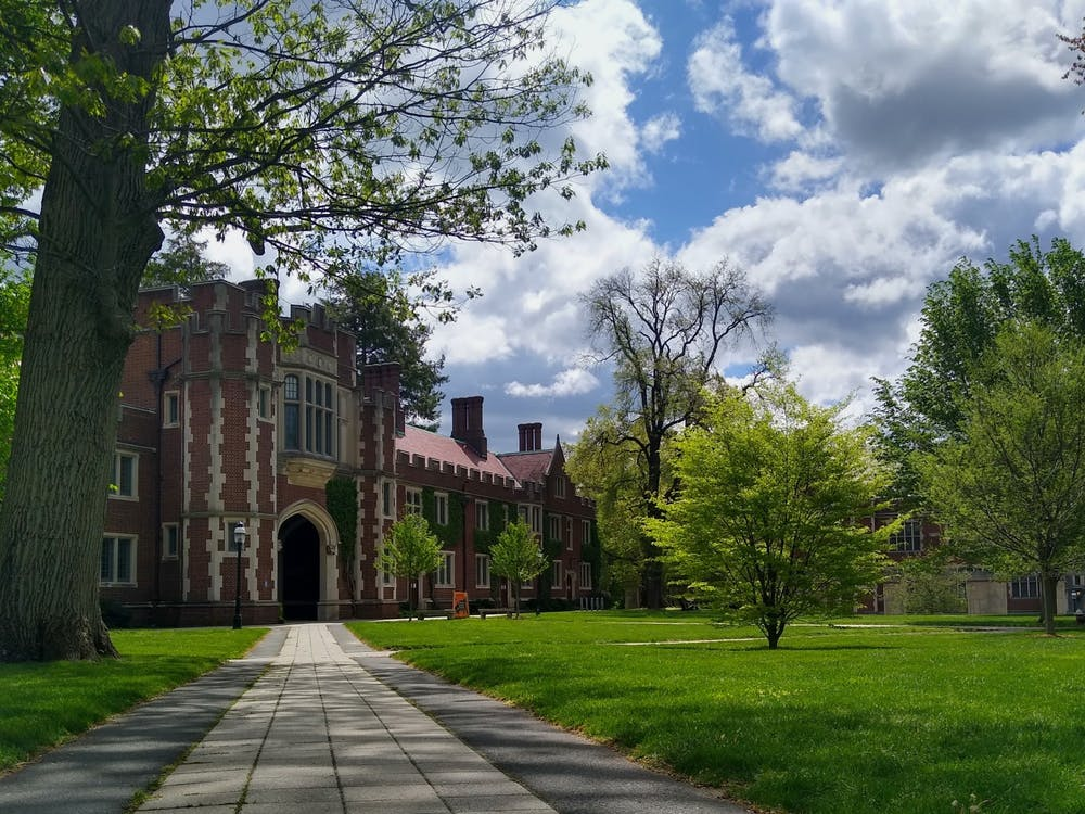 <h5>1879 Hall and the lawn in front of Frist Campus Center.</h5> <h6>Mark Dodici / The Daily Princetonian</h6>
