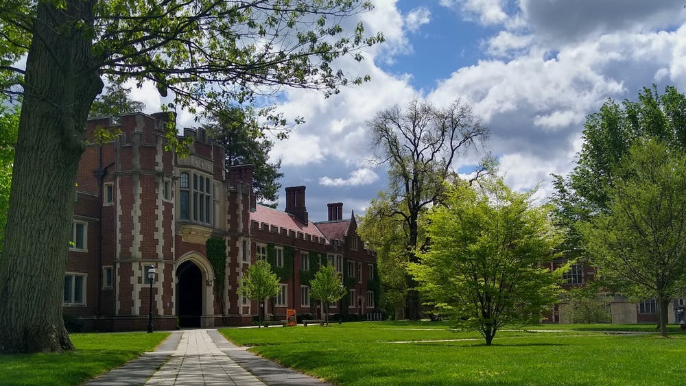 1879 Hall and the lawn in front of Frist Campus Center. Mark Dodici / The Daily Princetonian