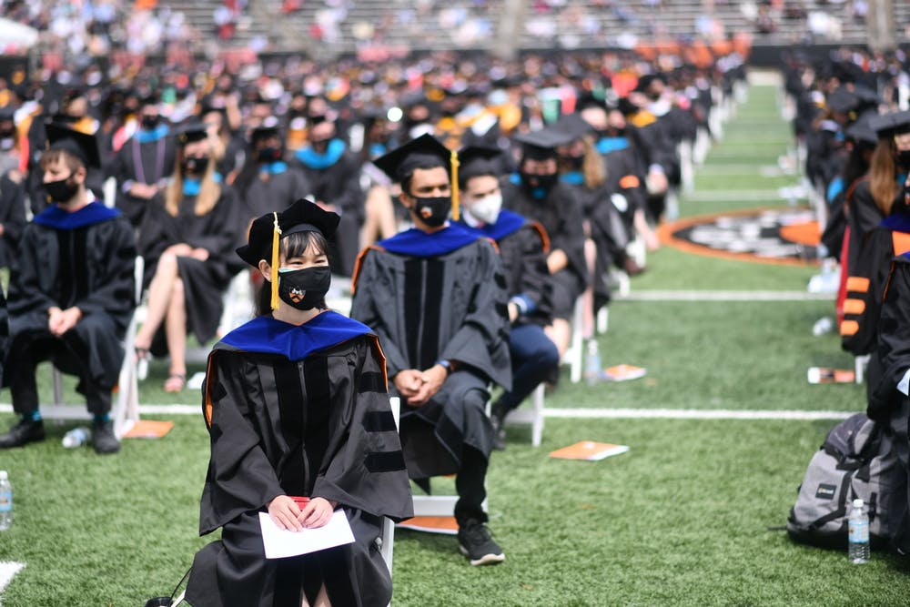 <h5>Princeton University 2021 Commencement</h5> <h6>Charles Sykes &nbsp;/ Associated Press Images for Princeton University</h6>