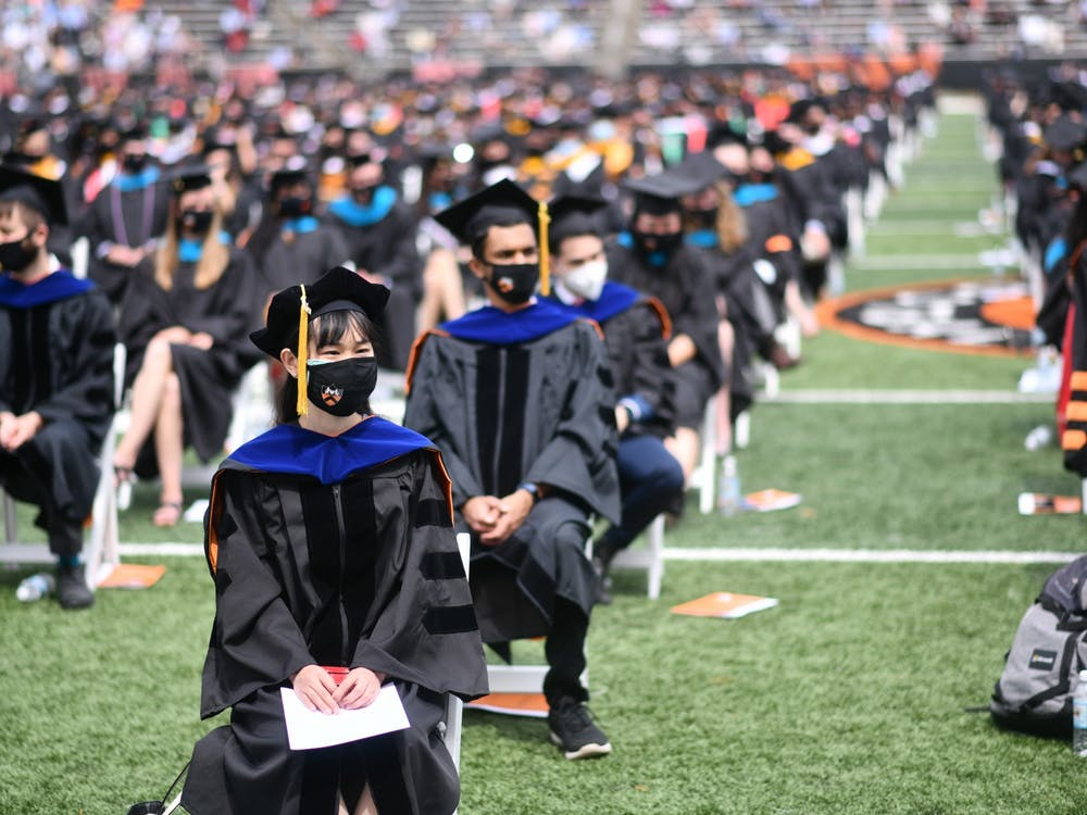 Princeton University 2021 Commencement Charles Sykes / Associated Press Images for Princeton University